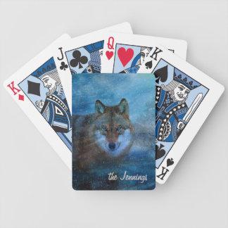 TCWC - Blåttvargjul Spelkort