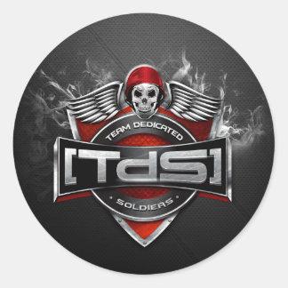 [TdS] För logotyprunda för klan Australia/NZ Runt Klistermärke