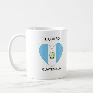 Te Quiero Guatemala Kaffemugg