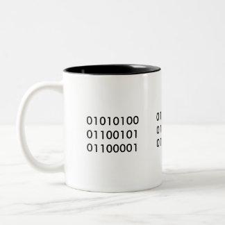Tea 101 Två-Tonad mugg