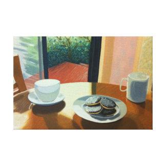 Tea för tryck för två konst