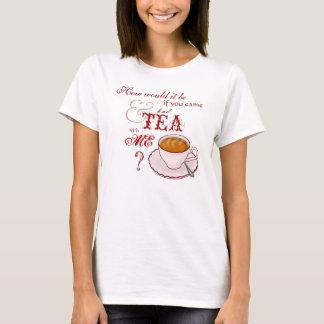 Tea med mig skjorta tee
