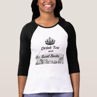 Tea och bokar t shirts