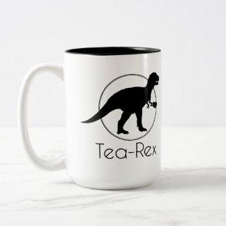Tea Rex Två-Tonad Mugg