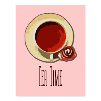 Tea Time Vykort
