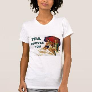 Tea upplivar dig t-shirt