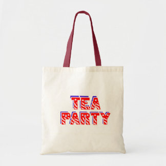 Teaparty Budget Tygkasse
