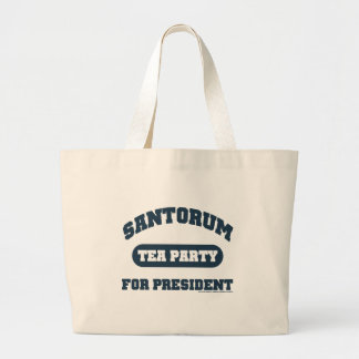 Teaparty för Santorum Jumbo Tygkasse