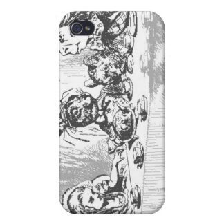 Teaparty iPhone 4 Fodraler