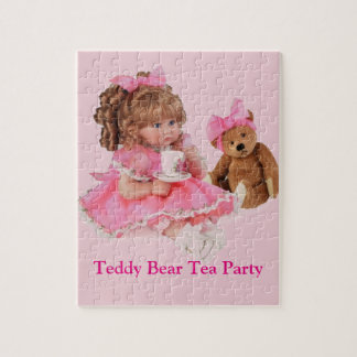 TEAPARTY TIME JIGSAW PUZZLES