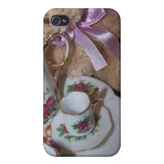 teapartyiphone case iPhone 4 skal
