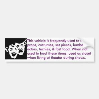 teater-mobil bildekal