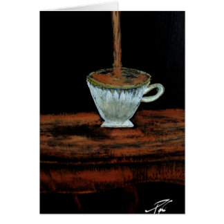 Teatime Hälsningskort