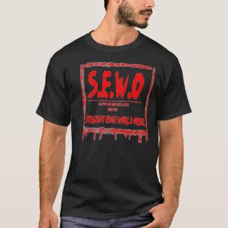 TEAW-, beställer den raka kantvärlden skjortan Tee Shirts