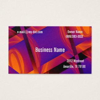 Tech skära i tärningar visitkorten visitkort