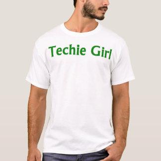 Techie flicka t-shirt