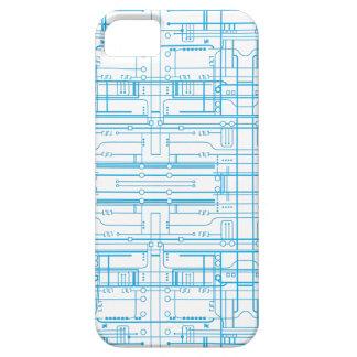 Techie går runt fodral för ritningmönsteriPhone 5 iPhone 5 Skydd