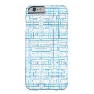 Techie går runt fodral för ritningmönsteriPhone 6 Barely There iPhone 6 Skal