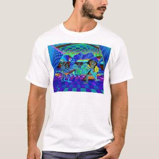 Techies musikbandGeometrix serie vid CricketDiane Tee Shirt