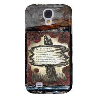 Tecken av en nödställd Soul Galaxy S4 Fodral