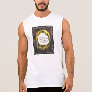 Tecken av kurage sleeveless t-shirt