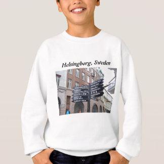 Tecken för Helsingborg sverigegata T Shirt