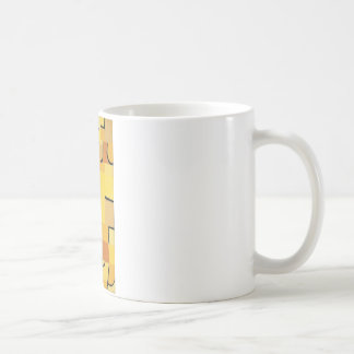 Tecken i gult av Paul Klee Kaffemugg