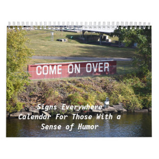 Tecken överallt, kalender
