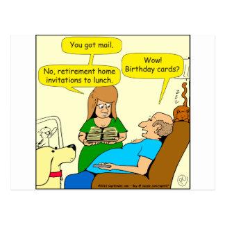tecknad för 827 födelsedagkort vykort