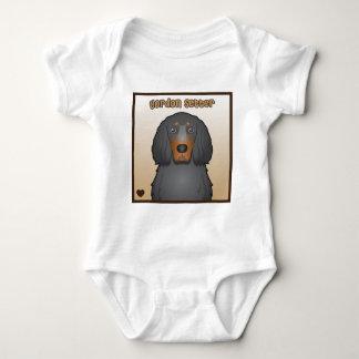 Tecknad för Gordon Setter T Shirts