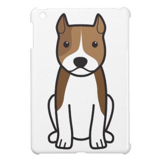 Tecknad för hund för amerikanStaffordshire Terrier iPad Mini Skydd