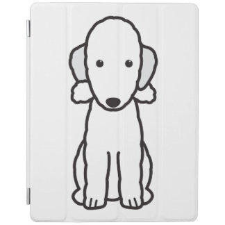 Tecknad för hund för Bedlington Terrier iPad Skydd