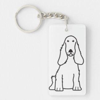 Tecknad för hund för engelskacockerspanielSpaniel