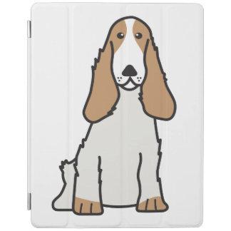 Tecknad för hund för engelskacockerspanielSpaniel iPad Skydd