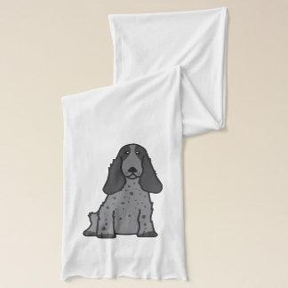 Tecknad för hund för engelskacockerspanielSpaniel Sjal