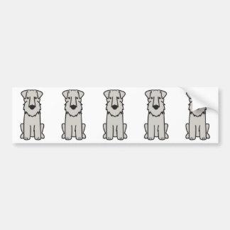 Tecknad för hund för Sealyham Terrier Bildekal