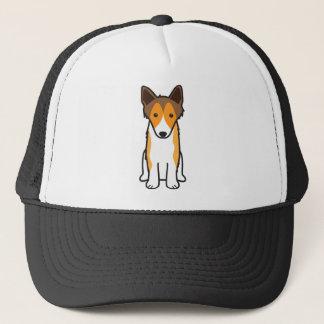 Tecknad för hund för Shetland Sheepdog Truckerkeps