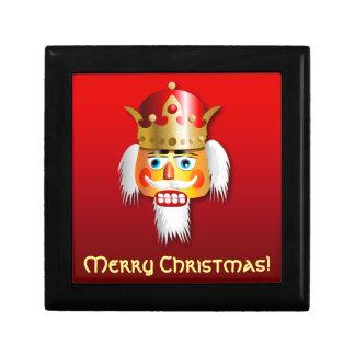 Tecknad för julnötknäpparekung smyckeskrin