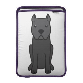 Tecknad för käppCorso hund MacBook Air Sleeve