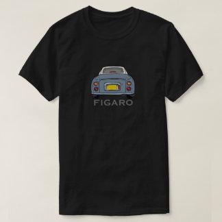 Tecknad för Lapis grå färgNissan Figaro bil Tee Shirt