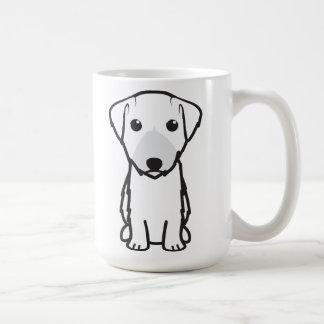 Tecknad för Lucas Terrierhund Kaffemugg