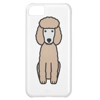 Tecknad för miniatyrpudelhund iPhone 5C fodral