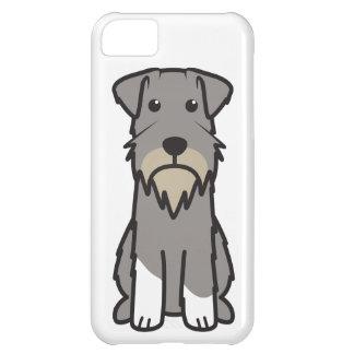 Tecknad för miniatyrSchnauzerhund iPhone 5C Fodral