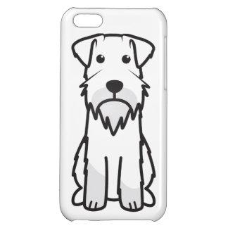 Tecknad för miniatyrSchnauzerhund iPhone 5C Mobil Fodral