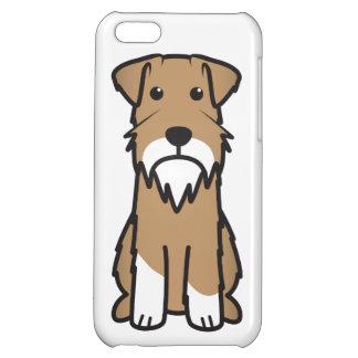 Tecknad för miniatyrSchnauzerhund iPhone 5C Skydd