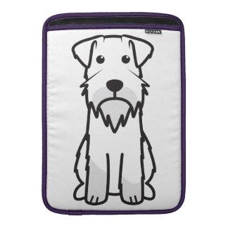 Tecknad för miniatyrSchnauzerhund MacBook Air Sleeve