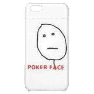 Tecknad för pokeransikteursinne iPhone 5C mobil fodral