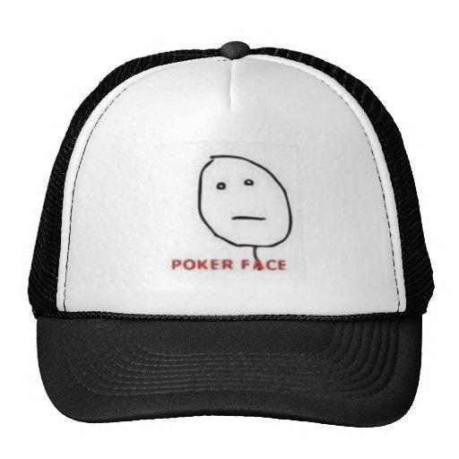 Tecknad för pokeransikteursinne keps
