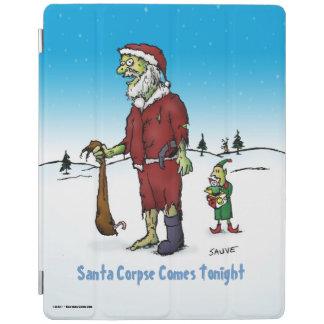 Tecknad för Zombie för Santa lik rolig iPad Skydd