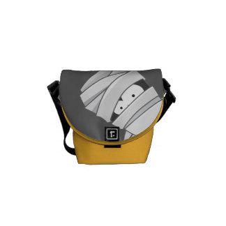 Tecknad Halloween som kikar mammamessenger bag Messenger Bag